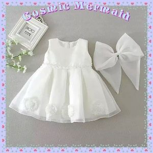 Other - 🆕⭐️Baby Flower Girl Wedding Event Dress⭐️ White